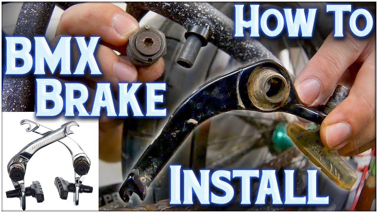 How To Install BMX Brakes