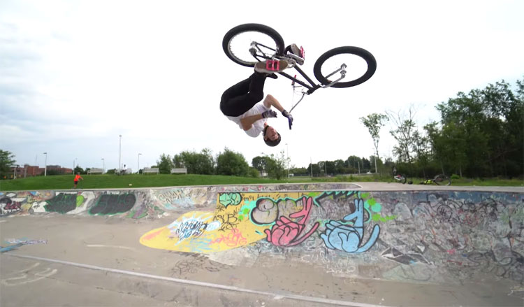 Joel Bondu No Stopping BMX video