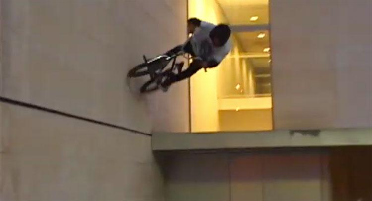 Lahsaan Kobza Barcelona BMX video