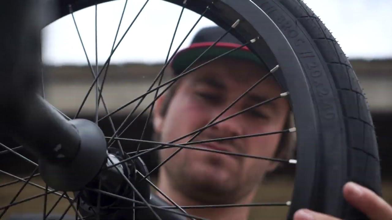Odyssey BMX Broc Raiford signature Broc Tire BMX