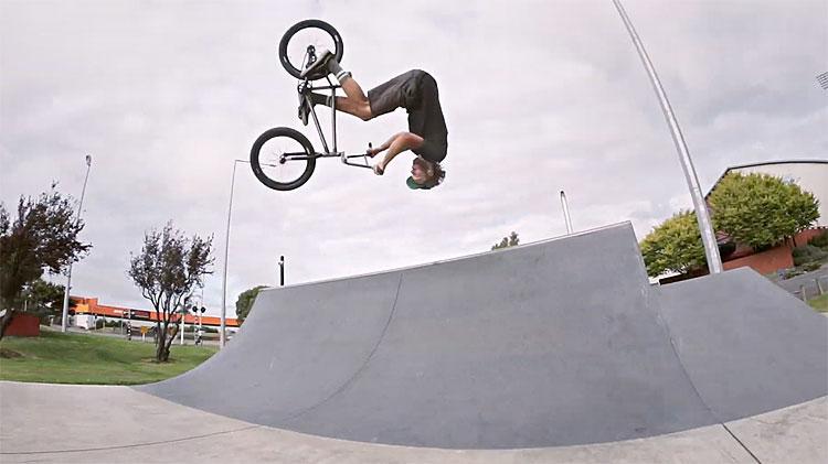 Oskars Zajarskis NZ Clips BMX