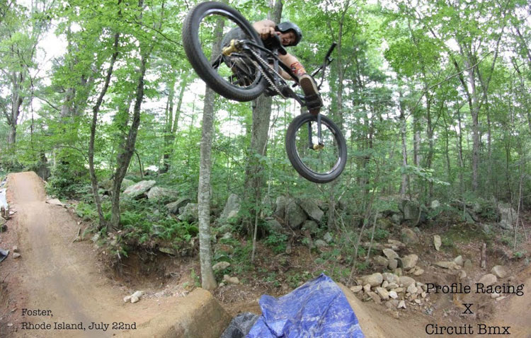 Profile Racing Circuit BMX One Hour In The Woods BMX video