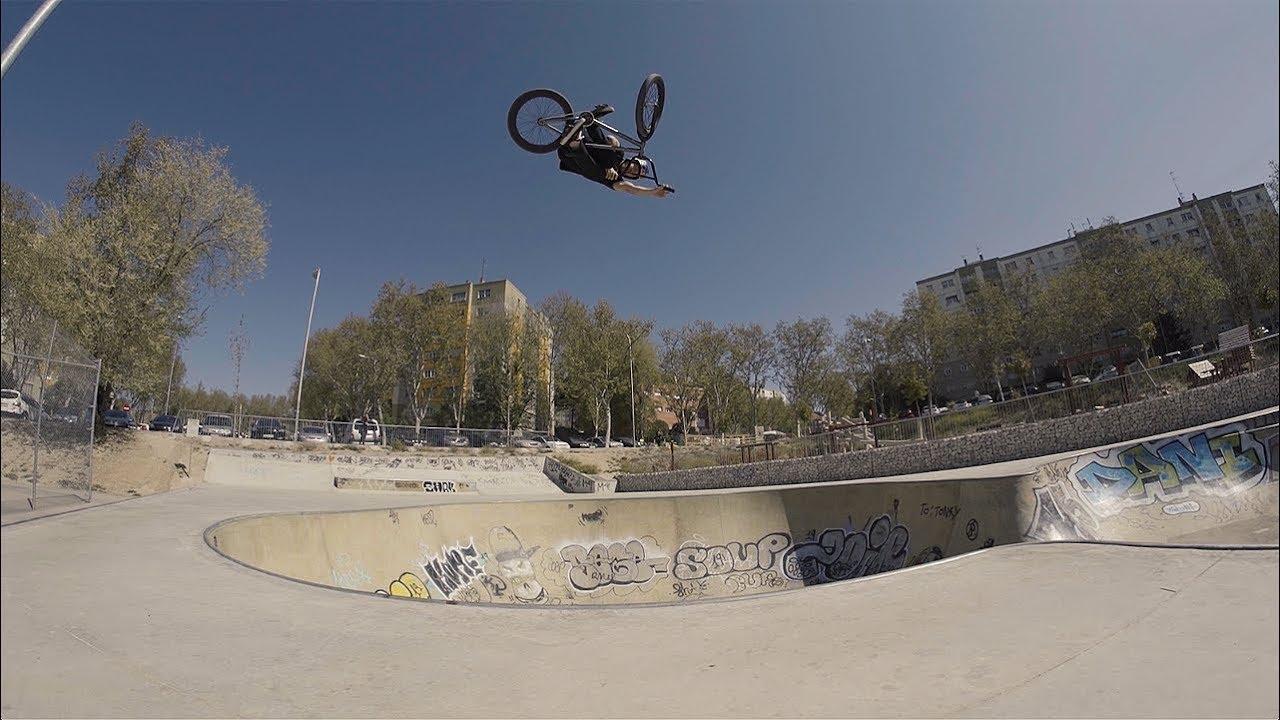 Sergio Layos Flybikes Sierra BMX video