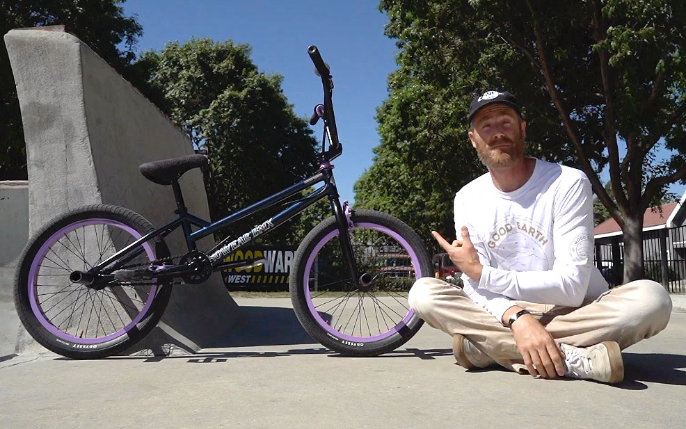 Adam Banton Video Bike Check BMX