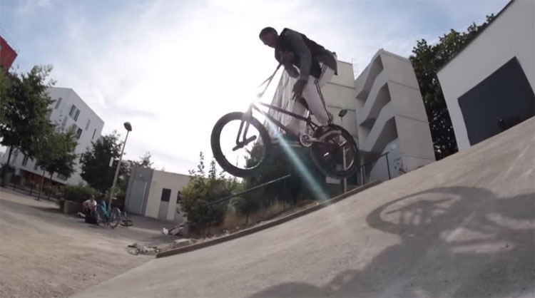 Asswad Djailani BMX video