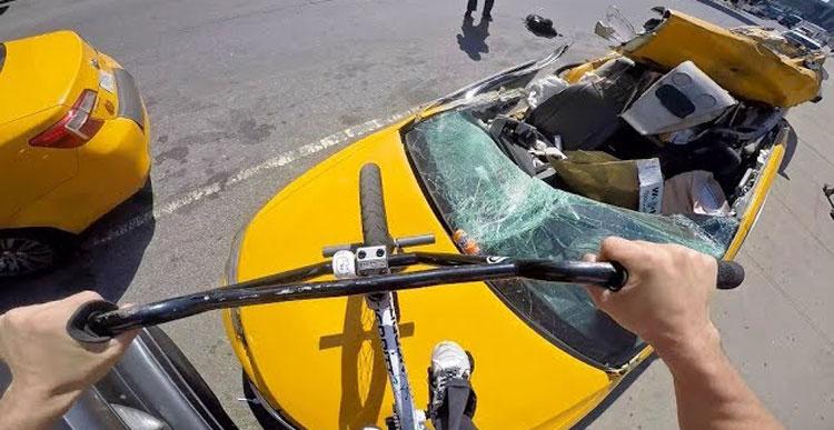 Billy Perry GoPro BMX Bike Riding NYC 9