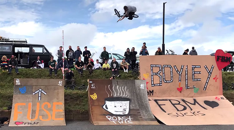 Boyley Jam 2019 Raw Cut BMX video