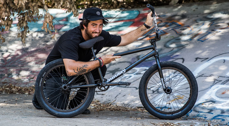Sunday Bikes Brett SIlva BMX bike Check