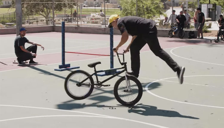 Chad Kerley Flat Ground Game of BIKE BMX