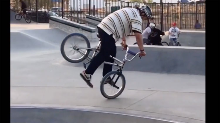 Corey Furmage BMX video