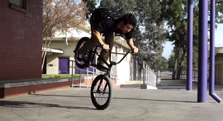 Cult BMX Andrew Castandeda It's Later Than You Think BMX video