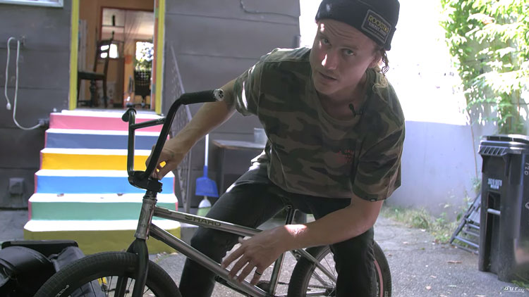 Dennis Enarson Video Bike Check BMX