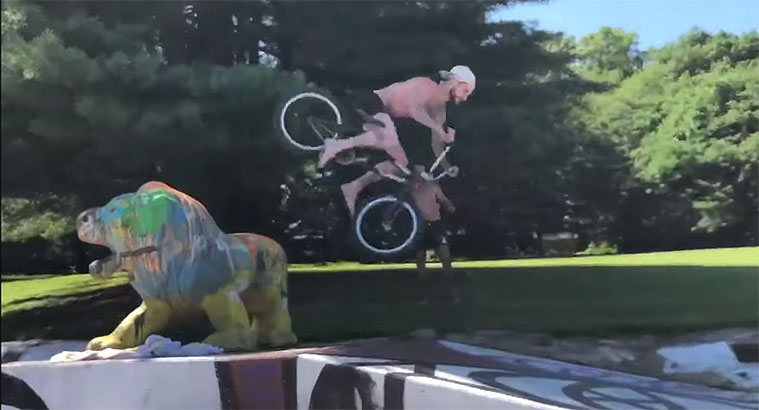 FloriDeah Talkin 4 BMX video Trey Jones