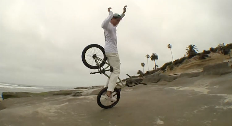Matthias Dandois Good Morning La Jolla Cove BMX video