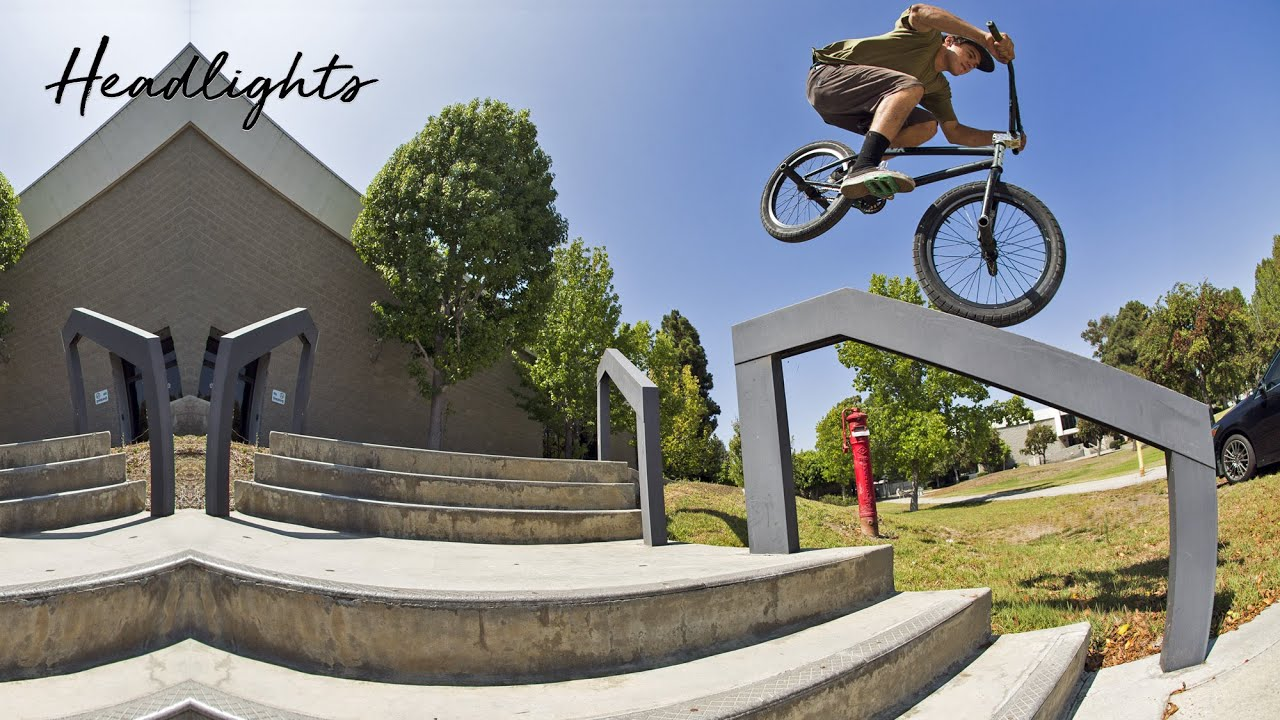 Headlights Friends Section BMX video