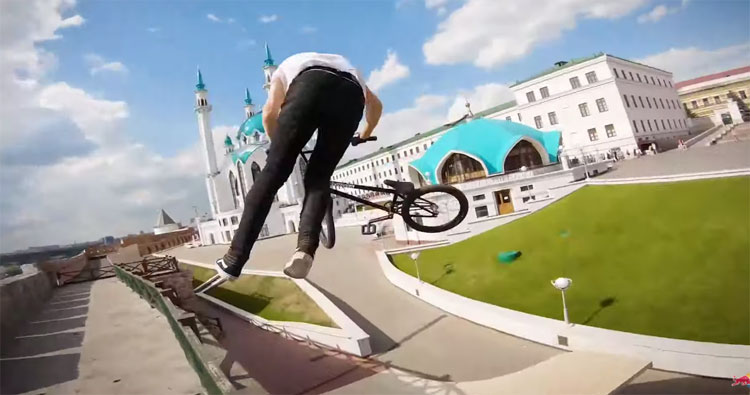Irek Rizaev Red Bull BMX video