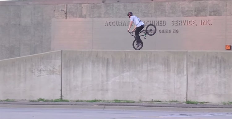 "Jamie Thayer ""The Way Out"" BMX video"