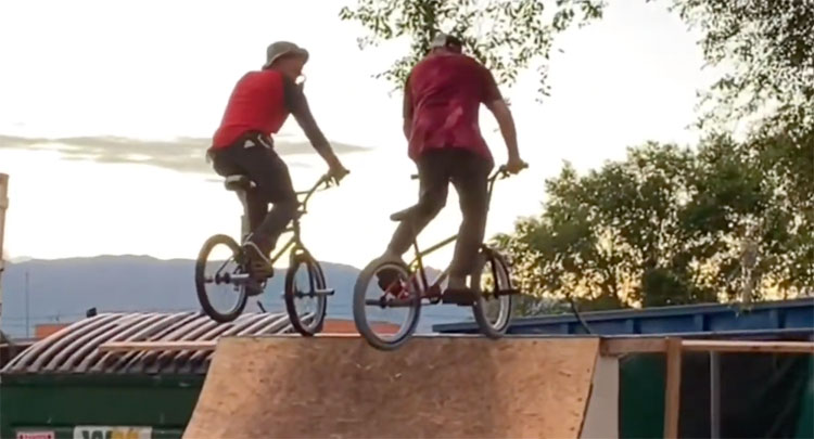 Montana Ricky Denver Weekend BMX video