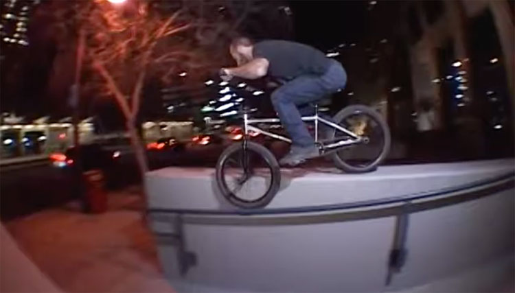 "Nick Bonnell ""Lightworks"" BMX video"