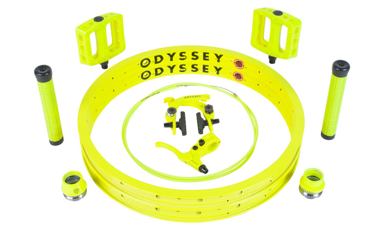 Odyssey BMX Fluorescent Yellow Kit