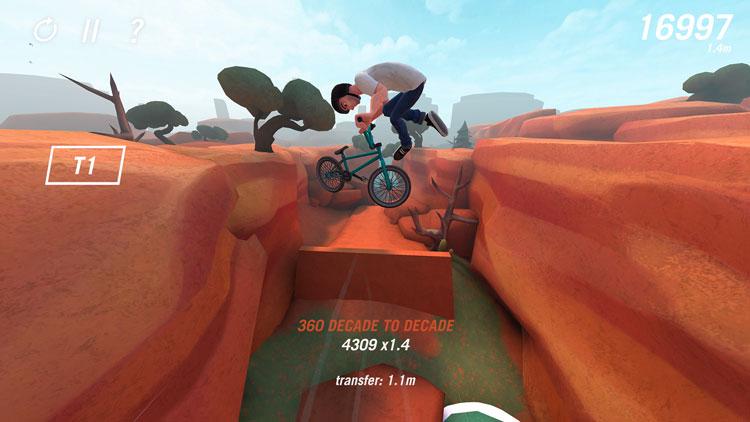 Pumped BMX Trail Boss Game