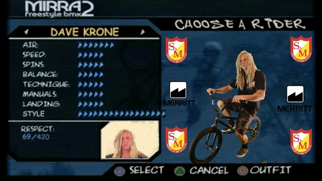 S&M Bikes Dave Krone NBD Frame Promo BMX video
