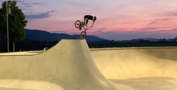 Standard Bykes 2019 Woodward East BMX video