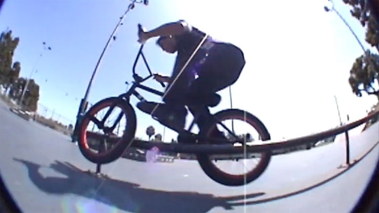Stranger BMX Andy Garcia Ringworm BMX video
