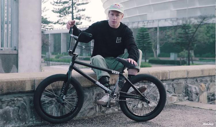 Sunday Bikes Murray Loubser Video Bike Check BMX