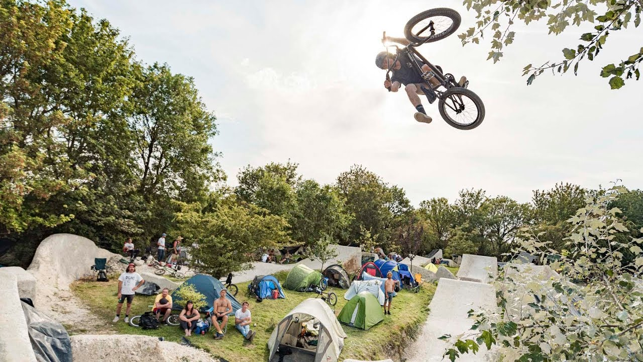 The Woodyard BMX Trails Jam video