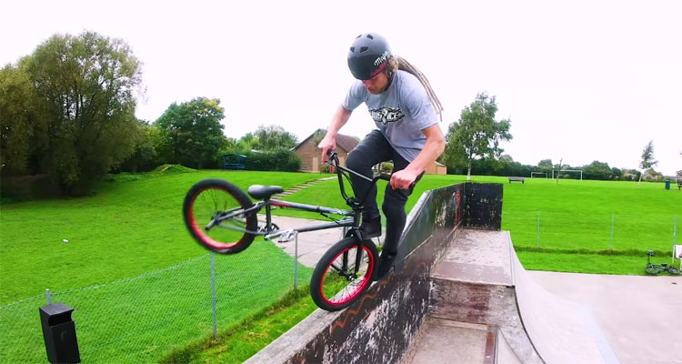 Tom Justice UK BMX video