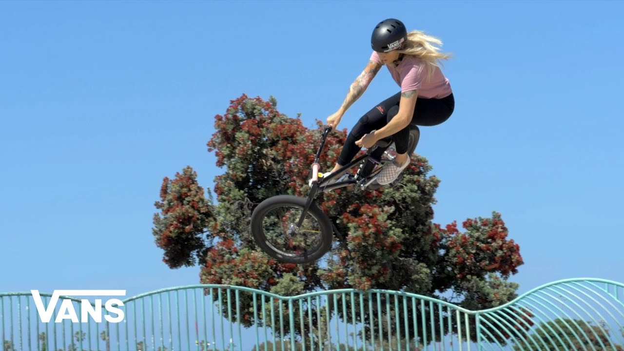 Vans BMX Angie Marino Welcome Video
