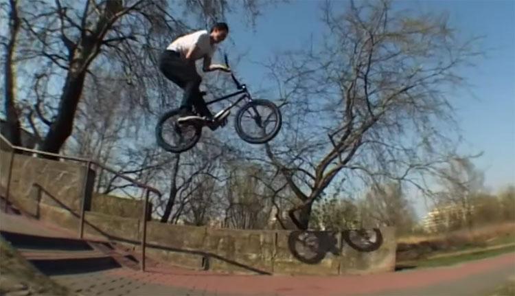 Wiktor Skibinski BMX video