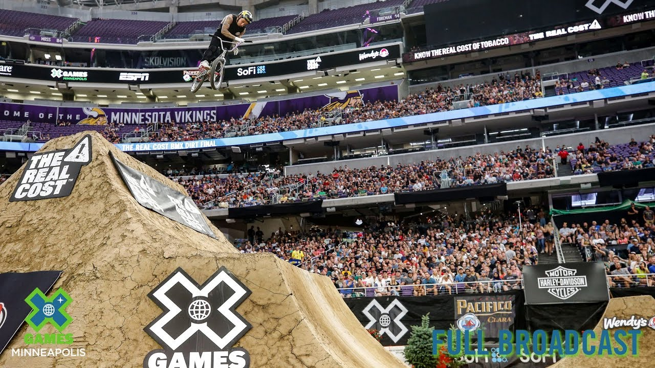 X Games 2019 BMX Dirt Finals Video