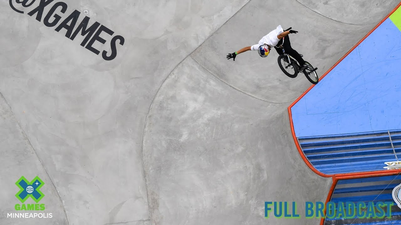 X Games BMX Park Finals video