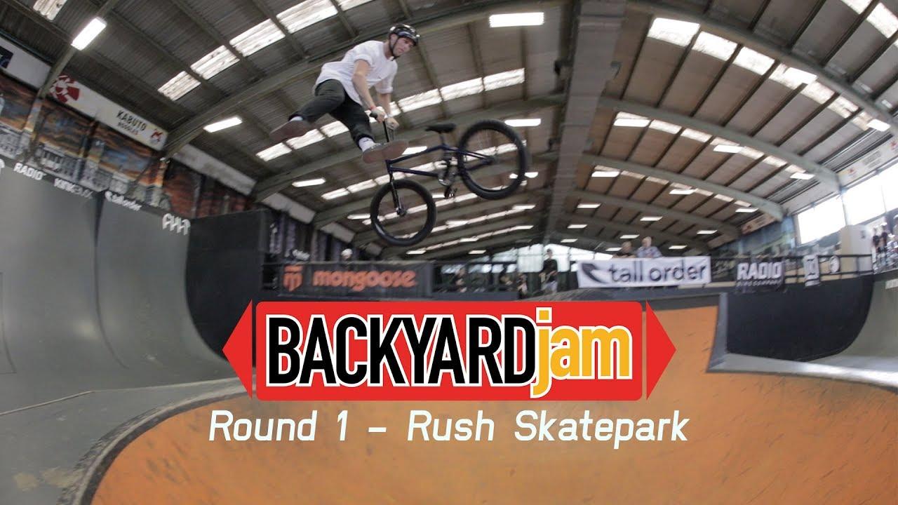 Backyard Jam 2019 Rush Skatepark BMX video