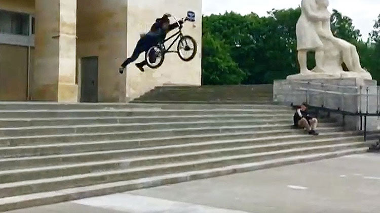 Bone Deth BMX Too Fast For Food BMX video