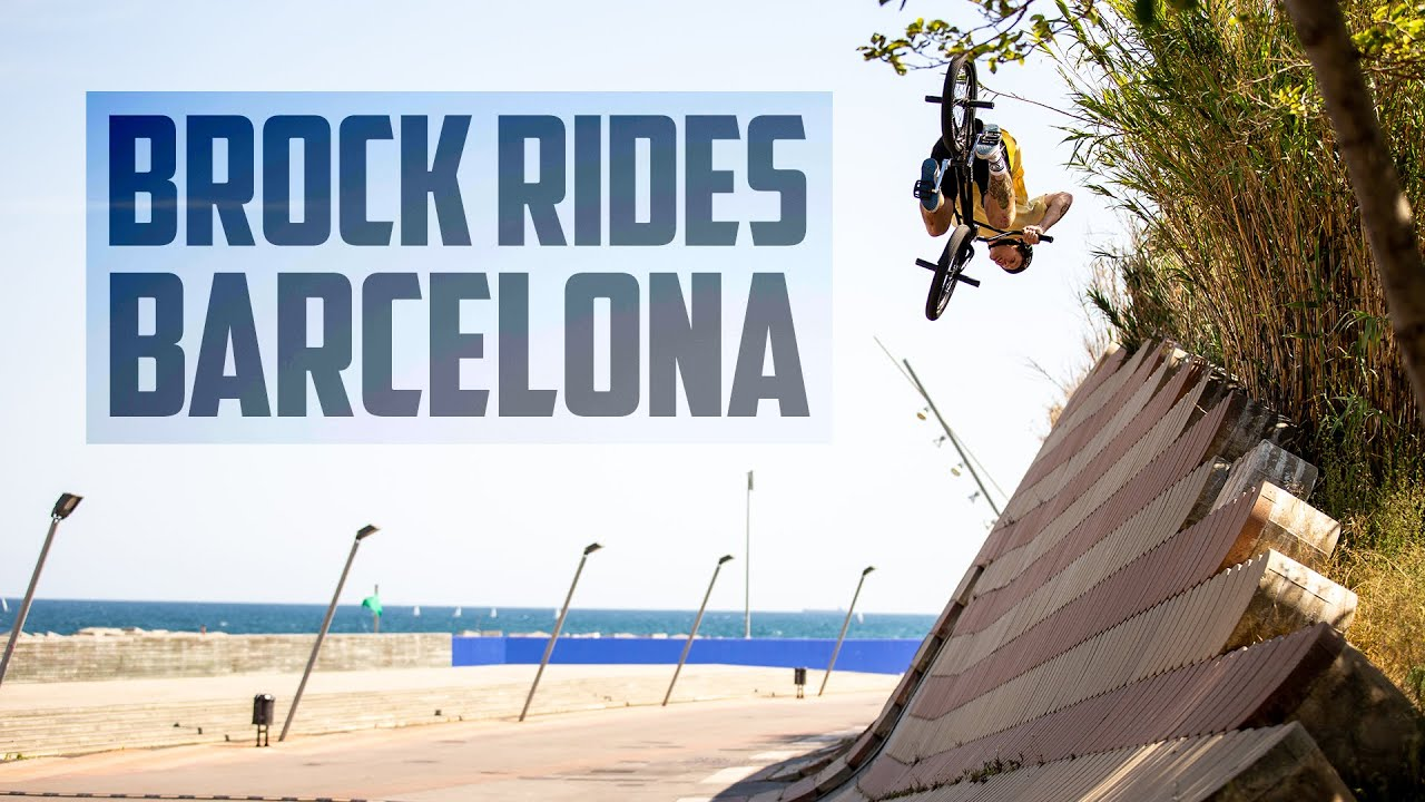 Brock Horneman Rides Barcelona bMX video