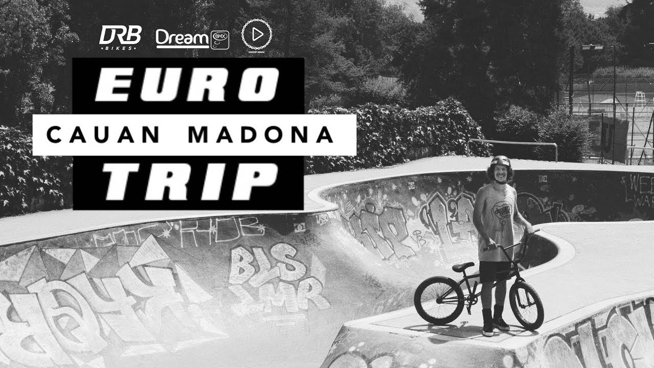 Cuan Madona Eurotrip 2019 BMX video