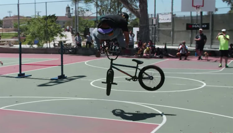 Chad Kerley Haro BMX Game of BIke Dennis Enarson