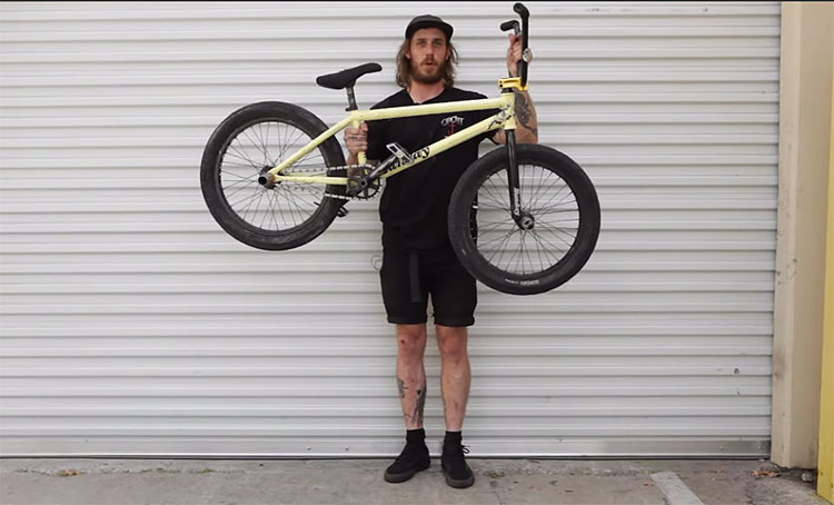 Chris Childs Video Bike Check BMX
