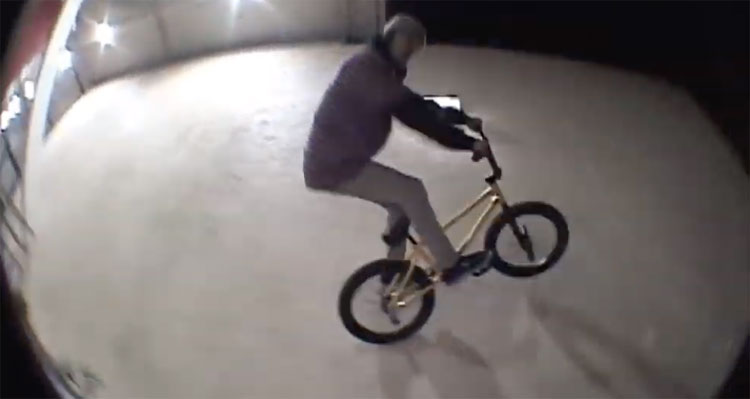 Connor Keating Midnight Creatures BMX video