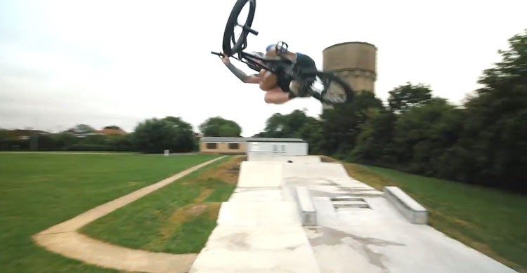 FBM BMX Joe Embrey Raw Edit BMX video