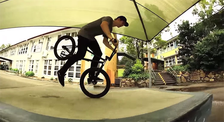 Jack Elkins Lost and Found BMX video