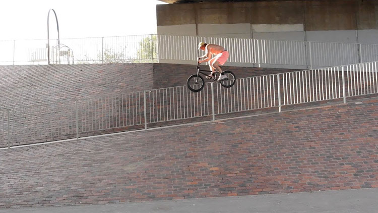 Metal Pegs Jam 2 London BMX video