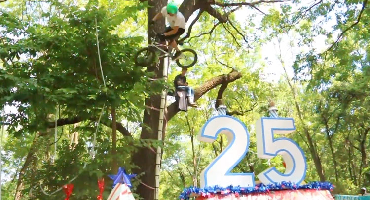 Posh Woods 25th Anniversary High Air BMX