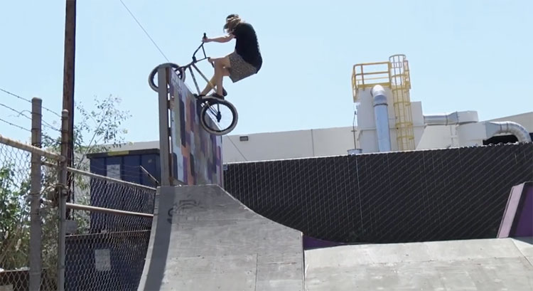 Reed Stark Denim Cox BSD at Full Factory BMX video