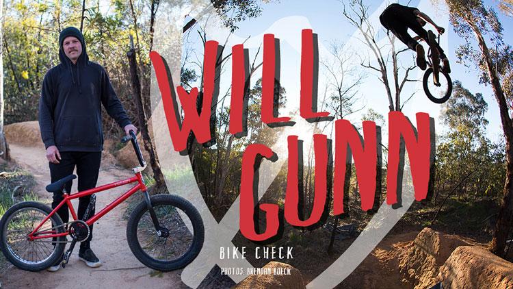 SM Bikes Will Gunn Bike Check BMX