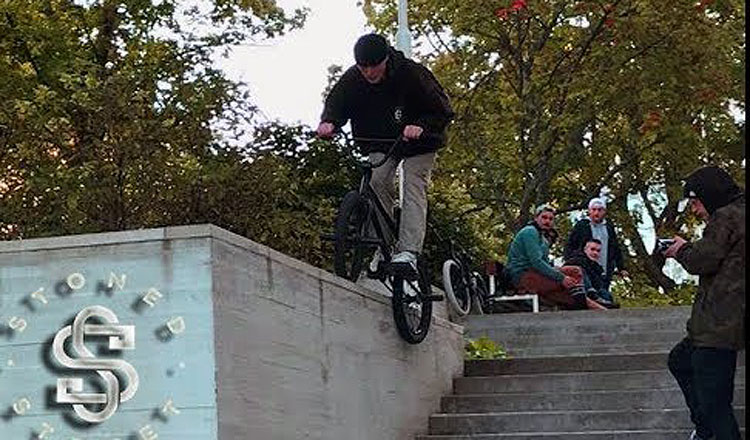 Stoned Street Makarra BMX video