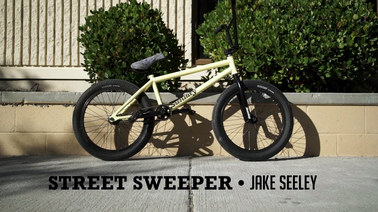 Sunday Bikes 2020 Street Sweeper Complete BMX bike promo